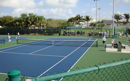 High School District Championships Tennis Courts