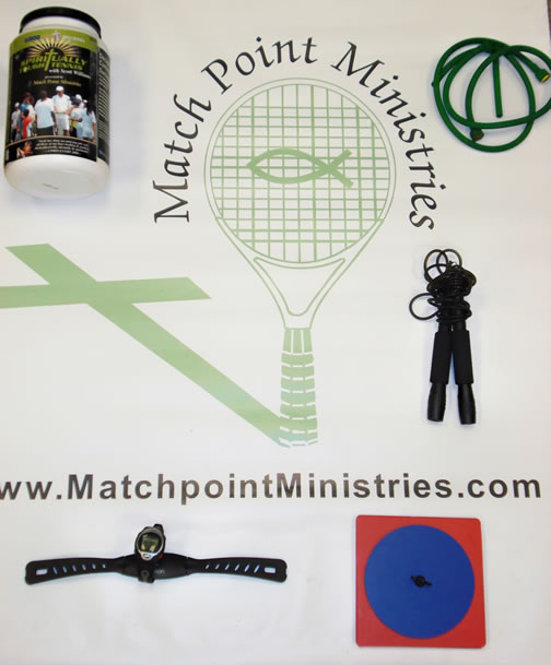 Spiritually Tough Tennis Fitness Kit